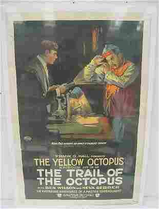 """Movie Poster – """"The Yellow Octopus"""" episode #15 of """""""