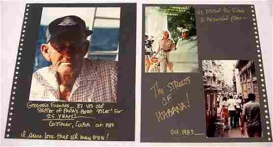 10: Hemingway Travelogue – Wonderful double sided eight