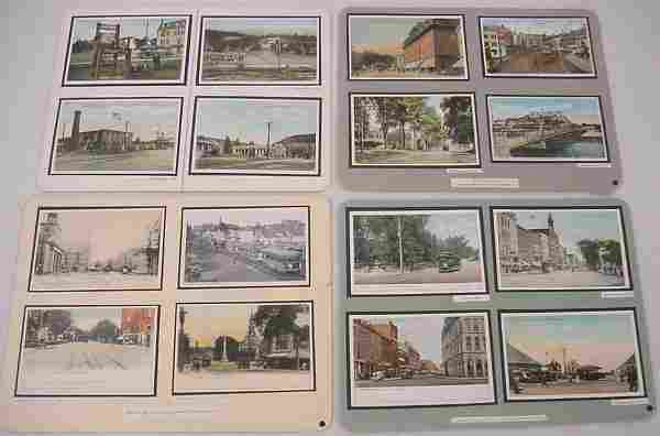 (130+) Massachusetts Postcards – Depots, Hotels, Tr