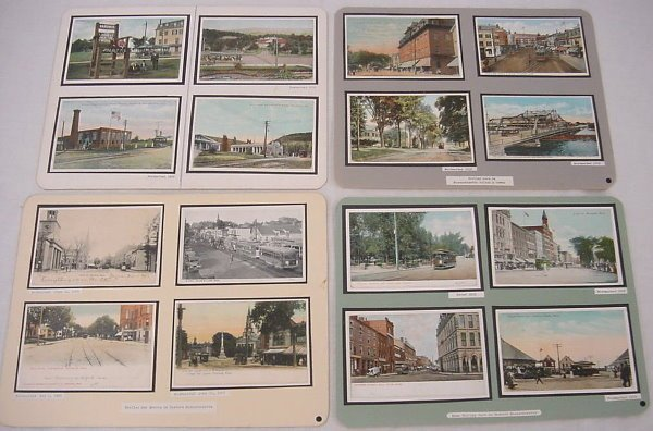14: (130+) Massachusetts Postcards – Depots, Hotels, Tr