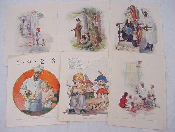 "17: (23) ""Cream of Wheat"" ads, 1910's – 1920's, some ed"
