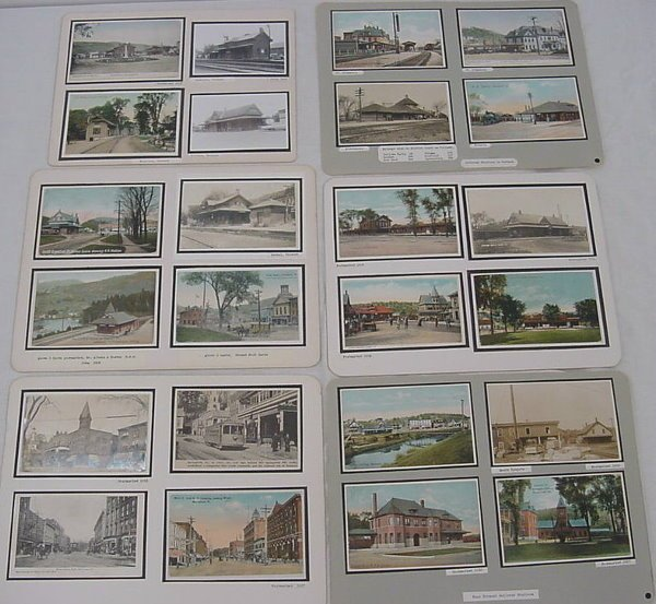 23: (80+) Vermont Postcards – Depots, Trollies, Covered