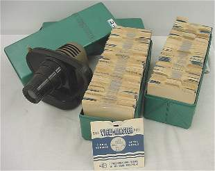 Photograph, (2) Large view – master cases full of 1