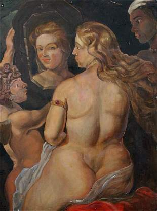 Peter Hopkins (1911-1999) Original Oil Painting