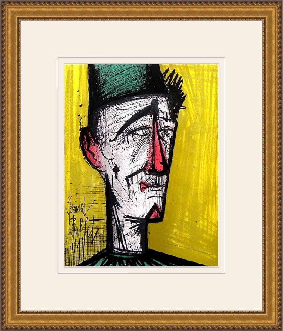 Bernard Buffet Jojo the Clown 1967 Original Lithograph