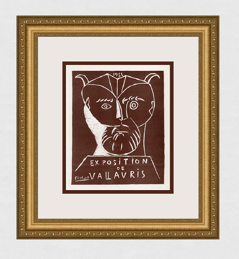 Pablo Picasso Vallauris framed lithograph