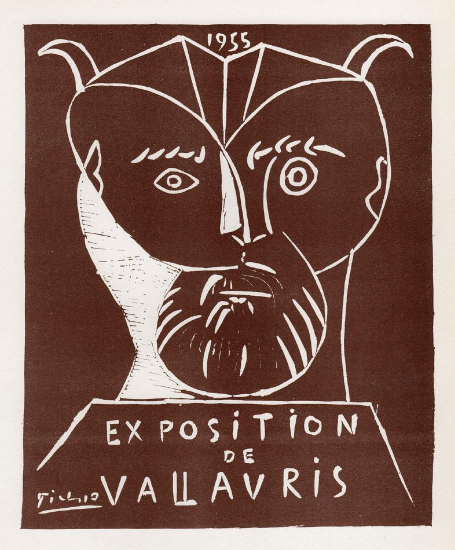 Pablo Picasso Vallauris framed lithograph - 2