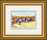 Urbain Huchet Signed Limited Edition Golf Lithograph