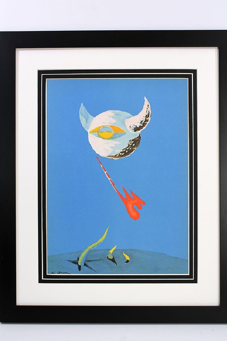 Andre Masson MOON Original 1938 Framed Lithograph - 3