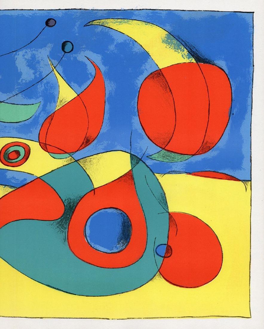 1956 Joan Miro Original Lithograph M227 Zephyr Bird - 3