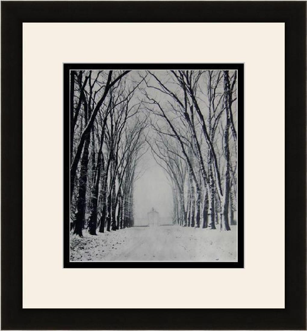 Marcel Bovis Winter Landscape 1930's photogravure