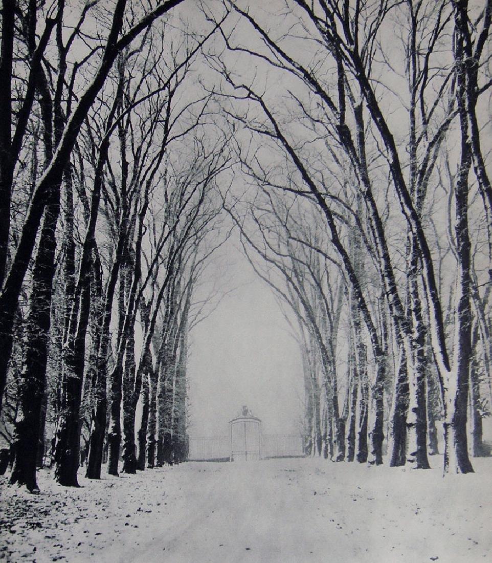 Marcel Bovis Winter Landscape 1930's photogravure - 2