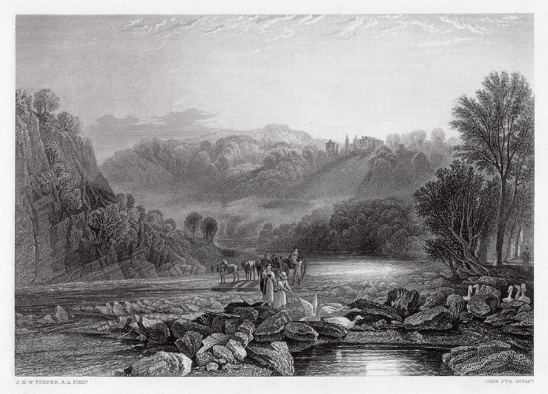 Joseph Mallord William Turner Wycliffe 1874 Engraving