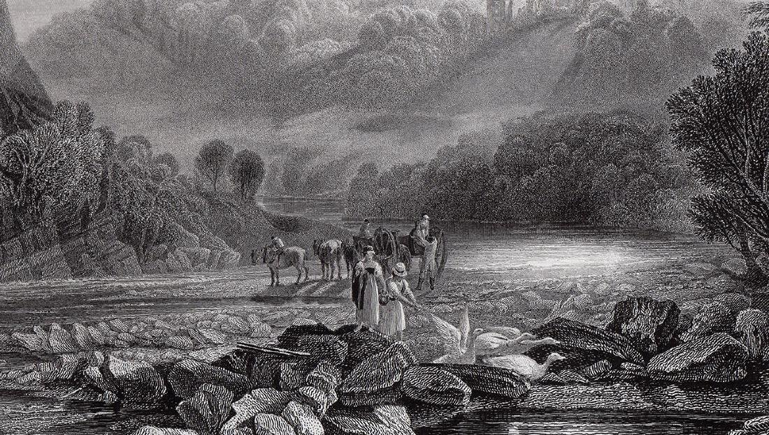 Joseph Mallord William Turner Wycliffe 1874 Engraving - 2