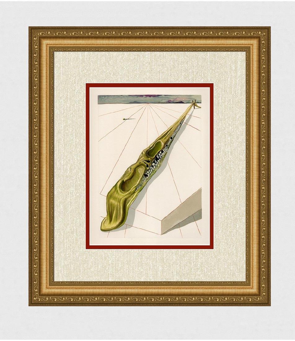 1960 Salvador Dali Blasphemers Original Woodcut