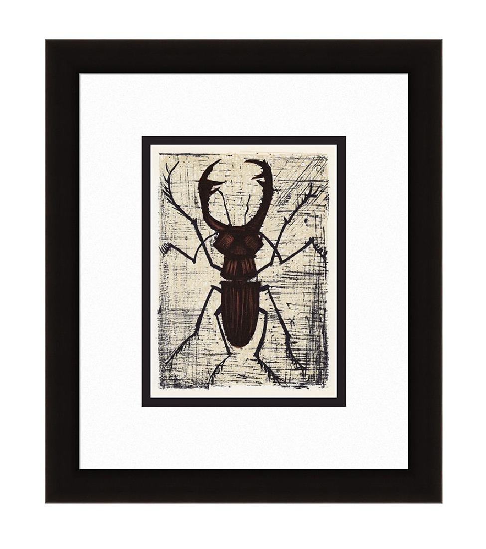 Bernard Buffet Stag Beetle 1967 lithograph