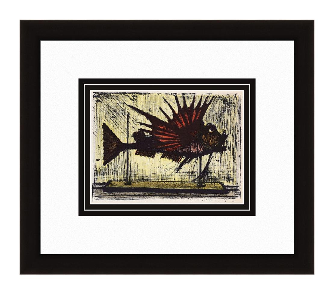 Bernard Buffet Hogfish 1967 lithograph