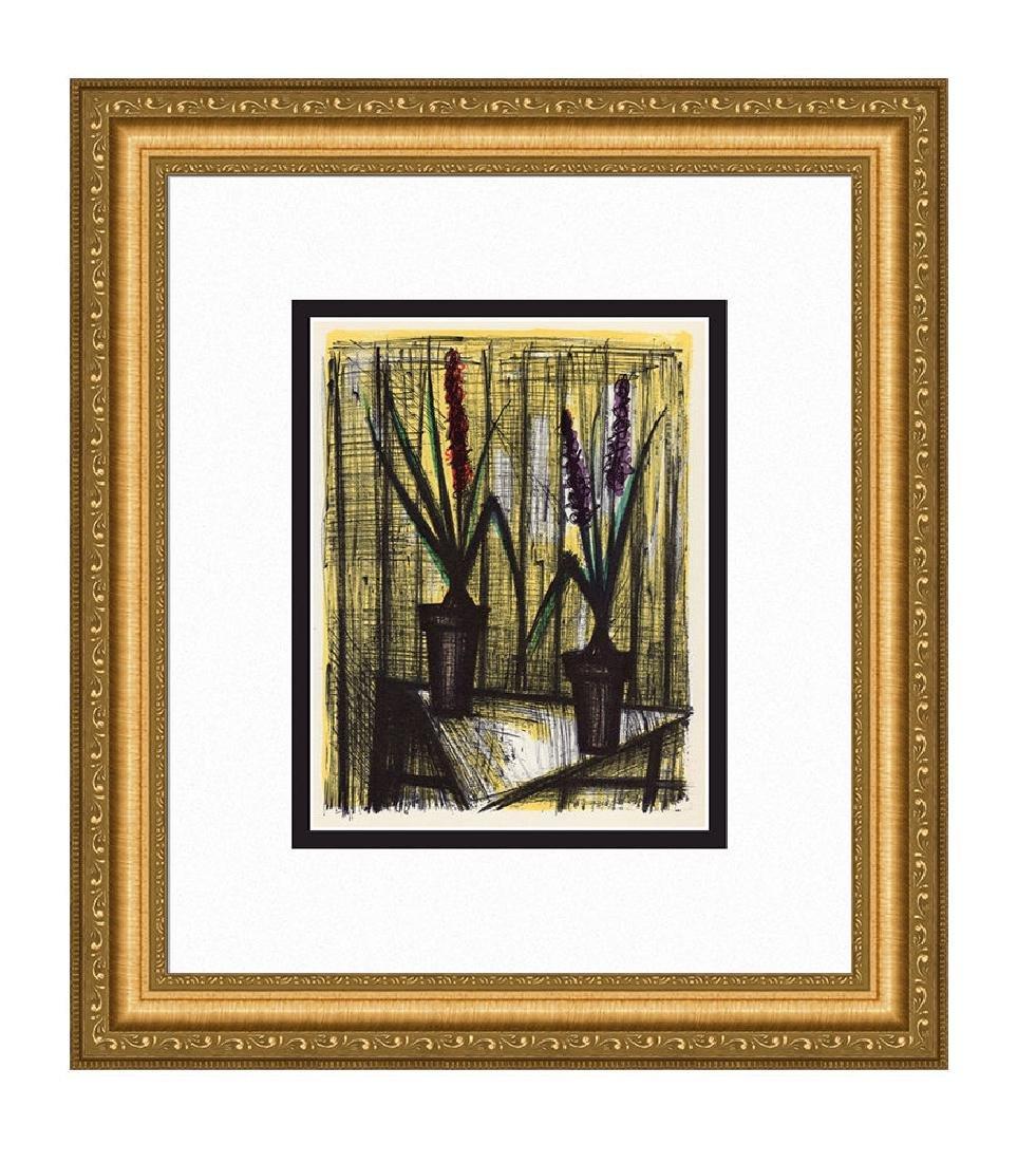 Bernard Buffet Hyacinths 1967 lithograph