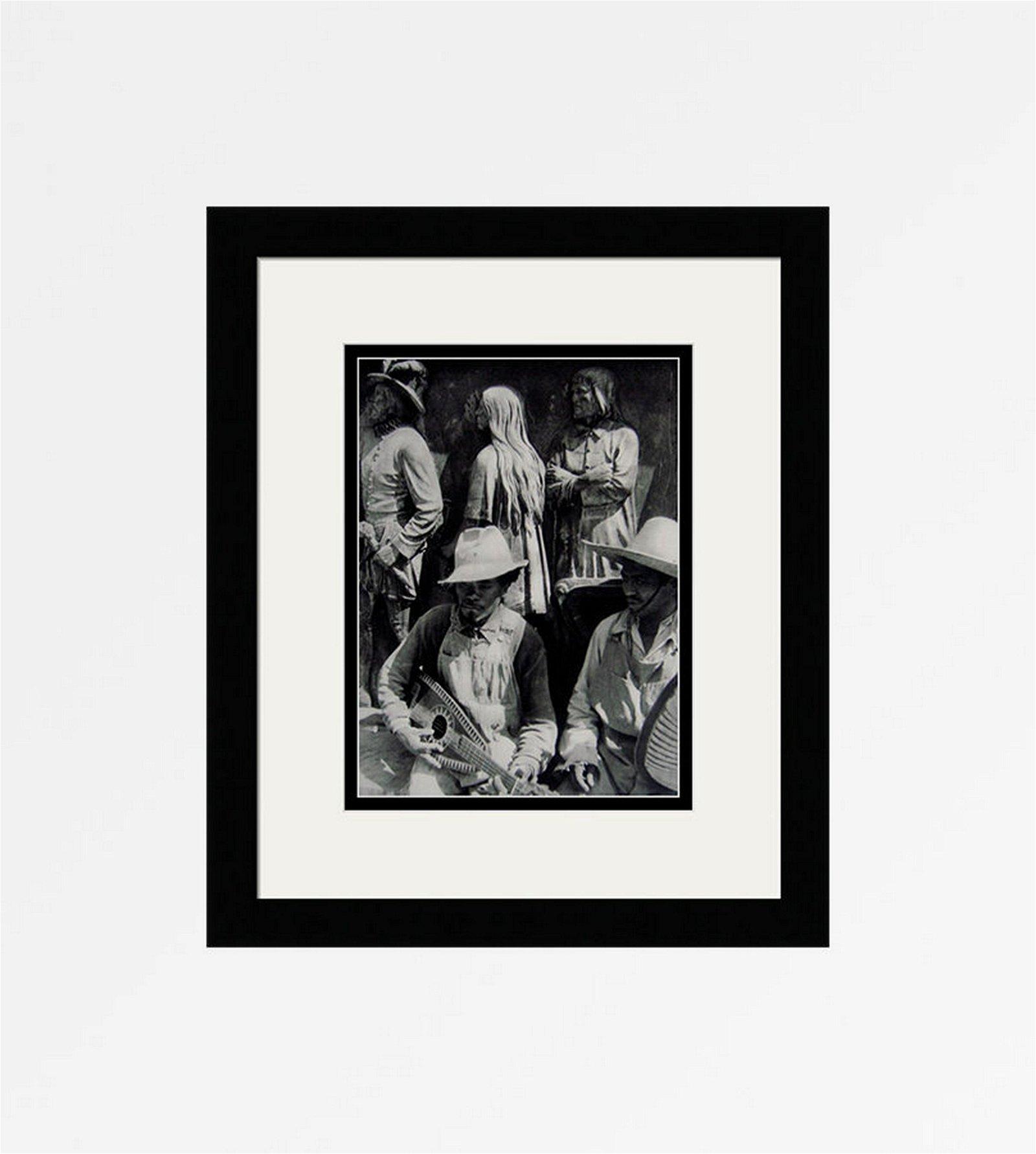 Cartier Bresson Mexico 1930's Photogravure