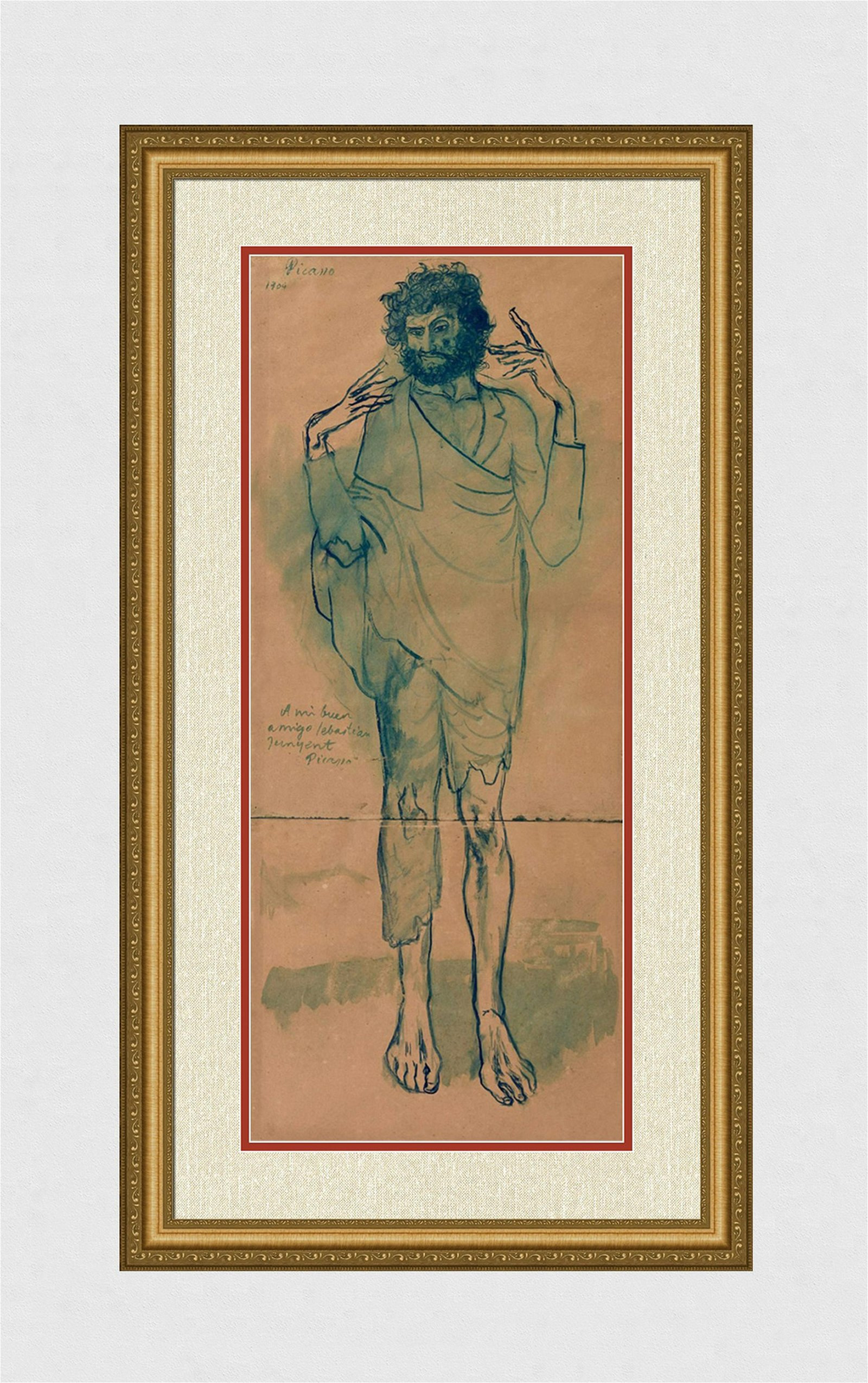 1963 Pablo PICASSO The Fool Limited Barcelone