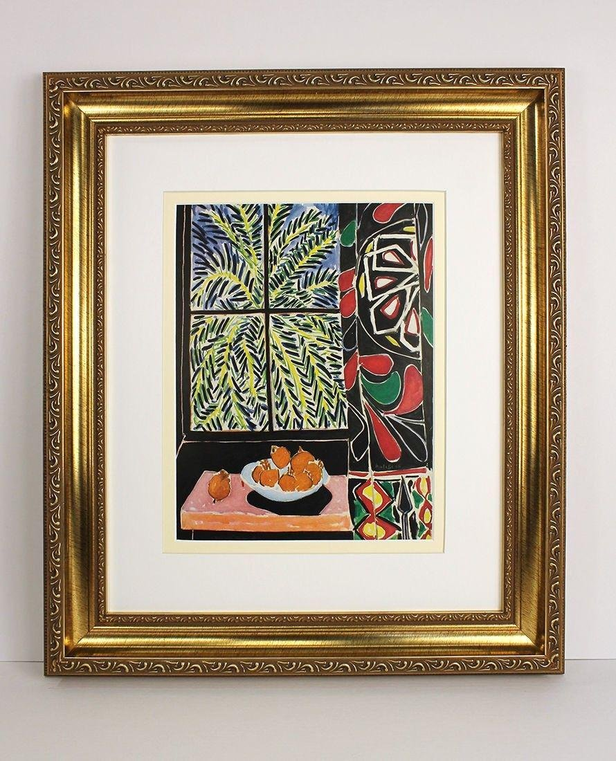 1948 Henri Matisse Behind Egyptian Curtain signed