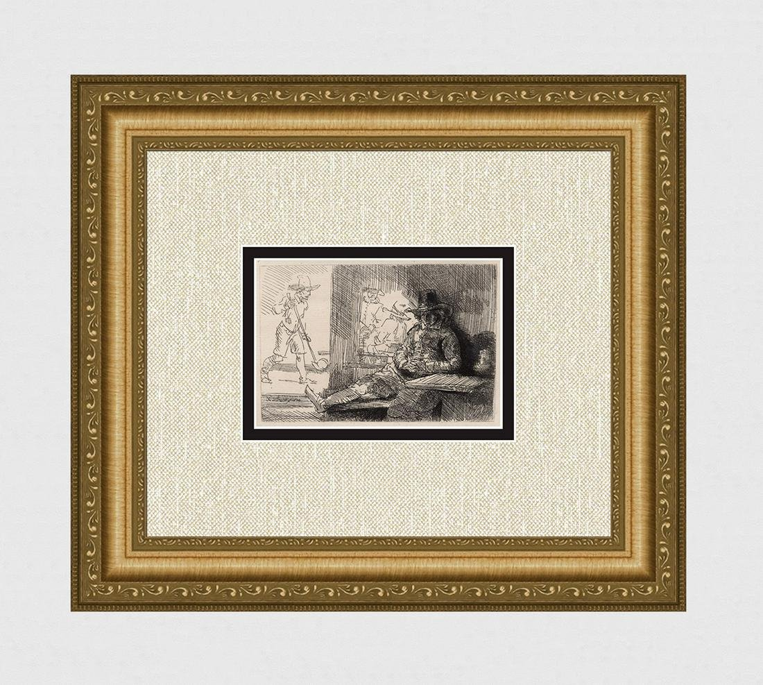 1800s REMBRANDT B125 The Golf Player DURAND
