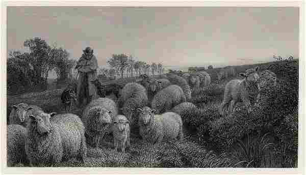 Henry William Banks Davis Returning to Fold 1884