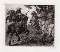 George George JacombHood Combat of St George and