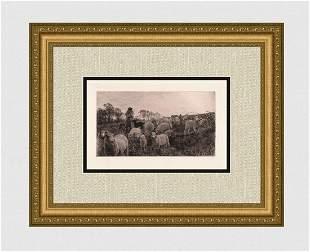 Henry William Banks Davis Returning to Fold 1882