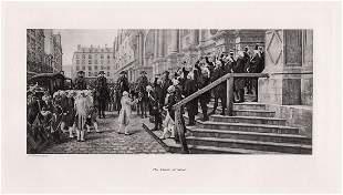 Jean Paul Laurens The Vault of Steel 1891 print
