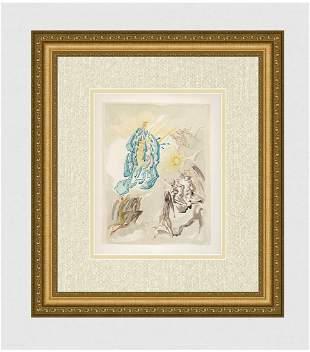 1960 Salvador Dali Sight Original Woodcut