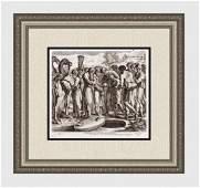 Raphael 1649 Engraving Vatican Joseph's brother plot to