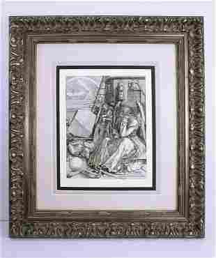 Albrecht Durer Melancholia I 1879 engraving
