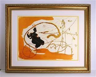 Dali 1967 Original Biblia Sacra Lithograph Framed