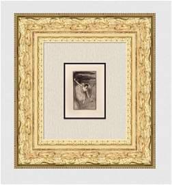 Edgar Degas Danseur sur scene, salutant one of 50,