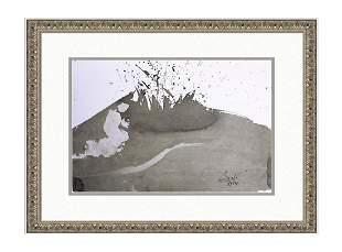 Salvador Dali Original 1967 Fiery Furnace Lithograph