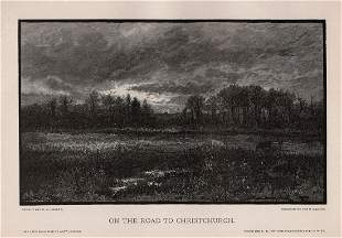 1887 Anthony Warton Henley On the Road to Christchurch