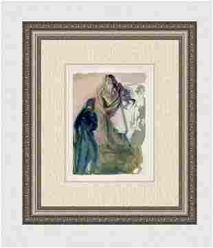 1960 Salvador Dali Walk Towards God Original