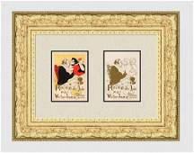 1896 Toulouse Lautrec Reine de Joie one of 25 on Japon