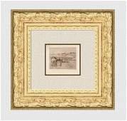 Edgar Degas Chevaux Dan La Prairie one of 50, 1891/92