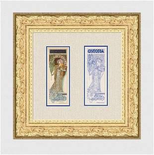 1896 Alphonse Mucha Sara Bernhardt Gismonda one of 25