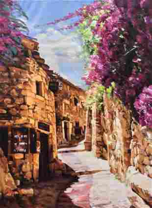 Garcia Villasante Tuscan Oil Painting 30 x 40