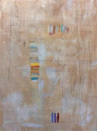 Large Original Karolina Sussland Painting Sandstone I