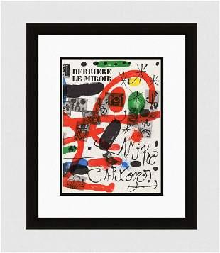 1965 Original 1965 Derriere Le Miroir Cartons