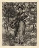 "1919 RENOIR Limited Edition Engraving ""Femme nue"