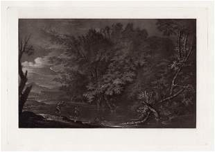 Salvator Rosa Landscape, with Mecury and the Woodman