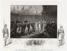 Henry Singelton 1855 Engraving Sons of Tippoo Sultaun