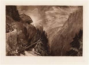 Joseph Mallord William Turner Val D'Aosta 1885