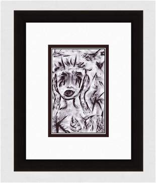 Patrick Mcdowell The Scream Ink on paper signed