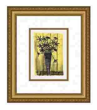 Bernard Buffet Bouquet of Flowers 1967 lithograph
